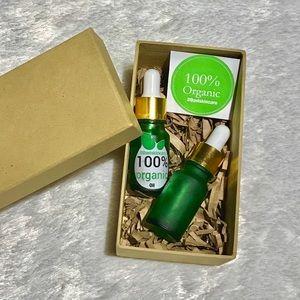 Other - 💕Organic Face Oil Hempseed Set Aloe Vera gel 10ml